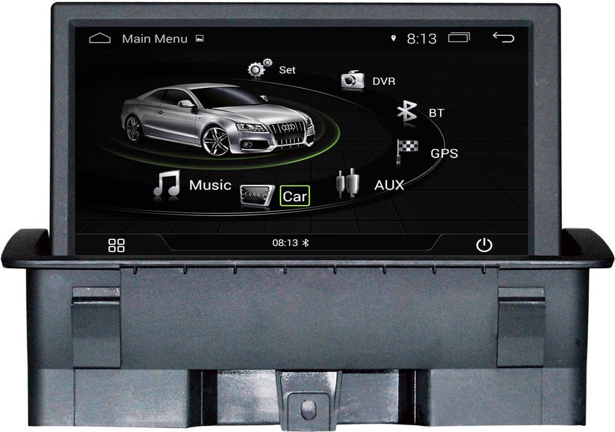Navigatie Audi A1 Android Touchscreen Multimedia System USB WIFI Bluetooth kopen