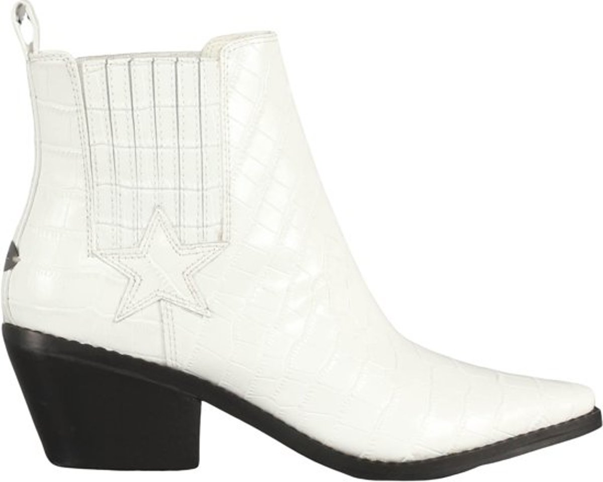 GUESS NeaStivaletto Dames Bootie Wit Maat 39