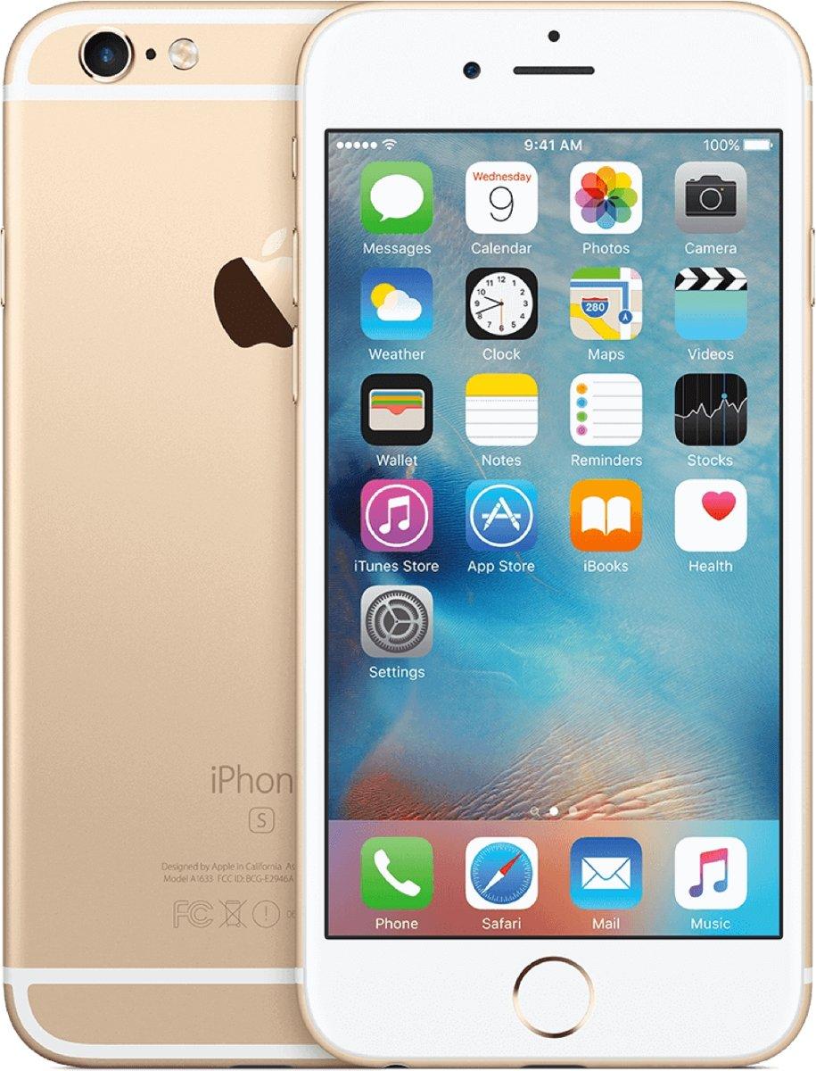Apple iPhone 6s - 64GB - Refurbished - Licht gebruik (B Grade) - Goud kopen