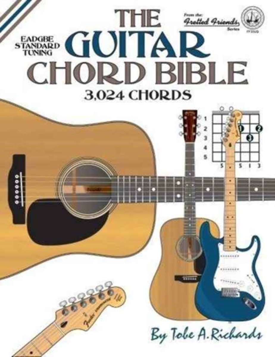 Bol The Guitar Chord Bible Standard Tuning 3024 Chords Tobe