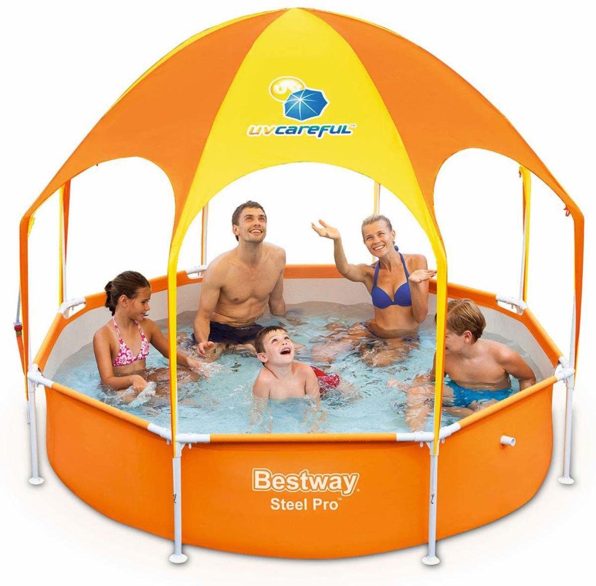 Bestway Splash-in-Shade zwembad 244 x 51 cm