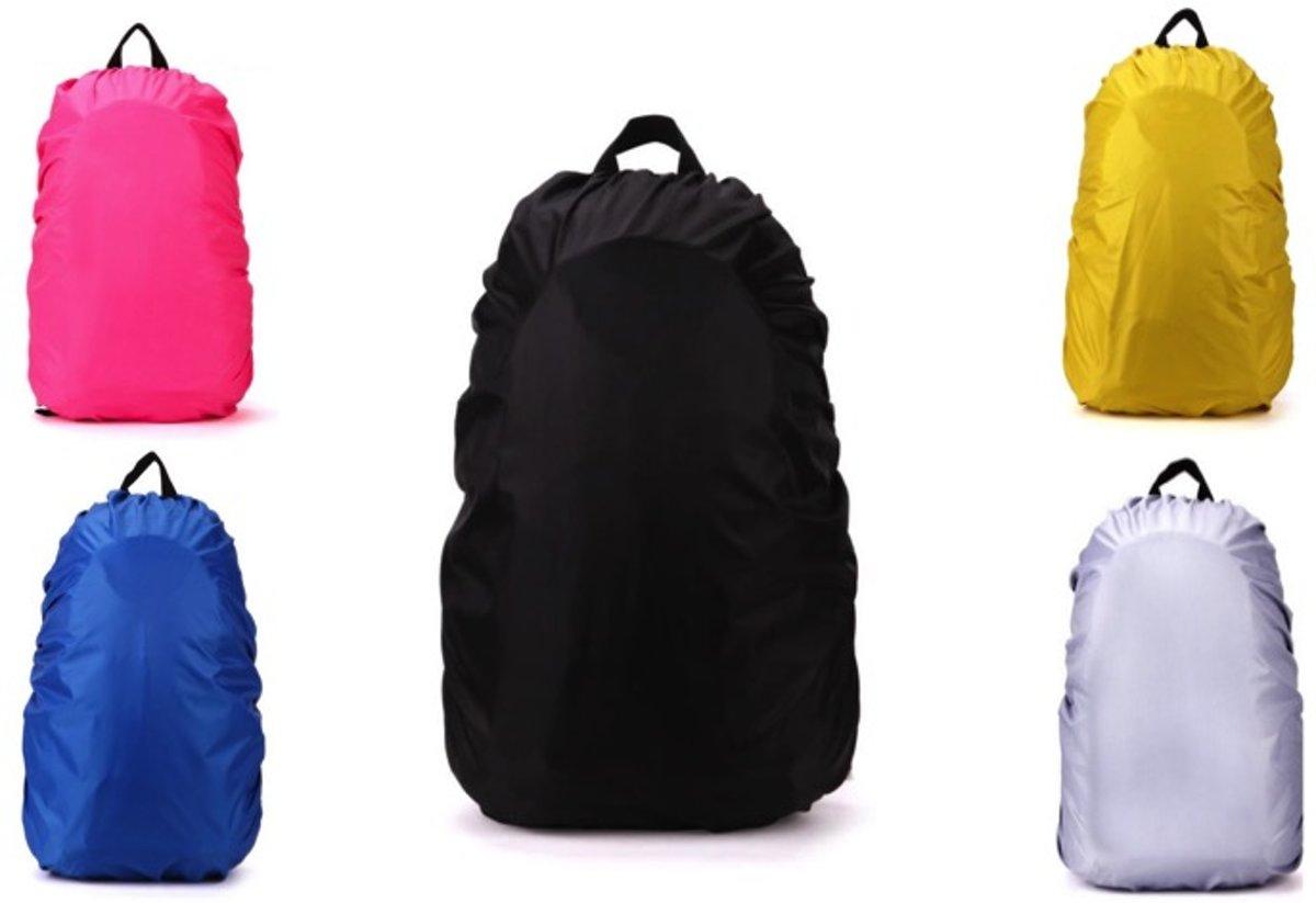 Regenhoes Rugzak - Waterdichte Backpack Hoes - Flightbag 35L | Bescherm uw tas tegen regen! (Zwart) kopen