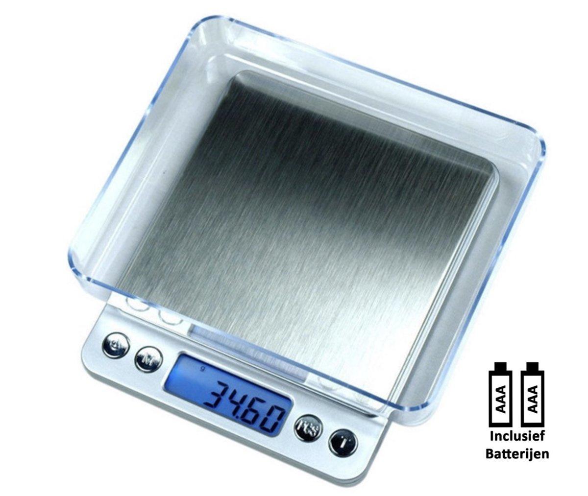 Profscale Precisie Digitale Weegschaal 0.01 Gram tot 500 Gram