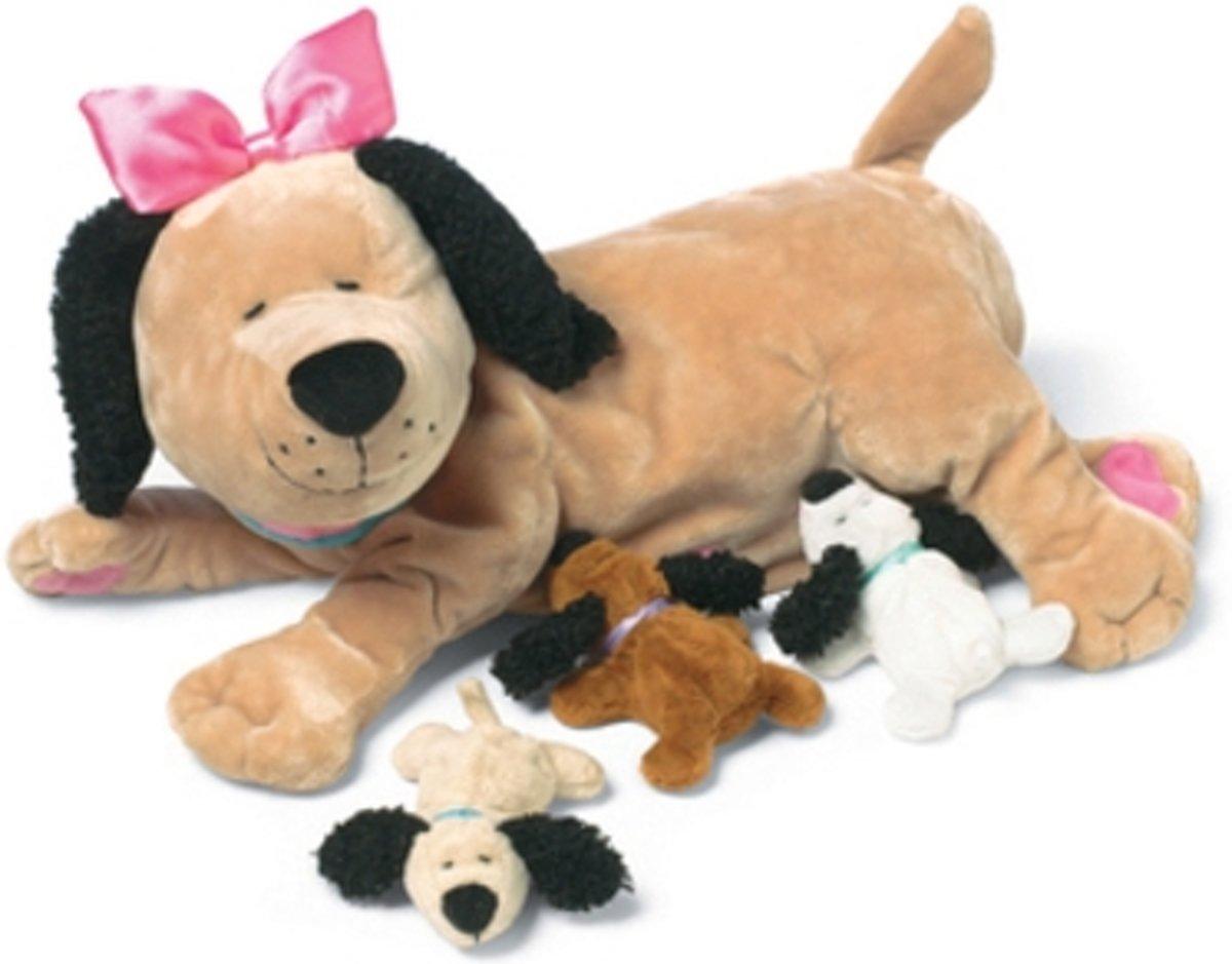 Groovy Girls knuffel Groovy Girls Dieren Nursing Nana Dog