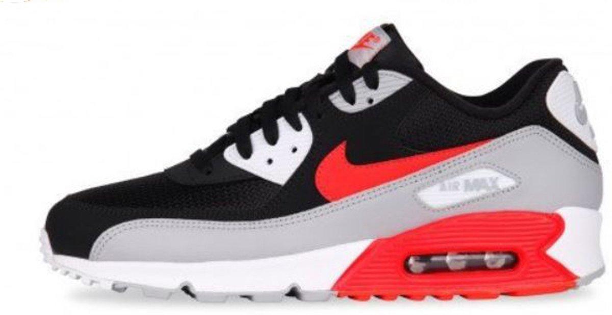 Nike Air Max 90 Essential AJ1285 012 Zwart Grijs Rood 41