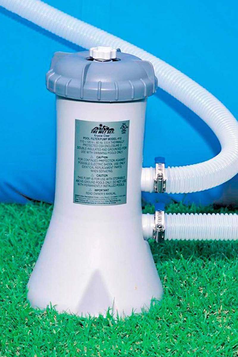 Intex zwembadpomp 12v (2271 liter/#28604)