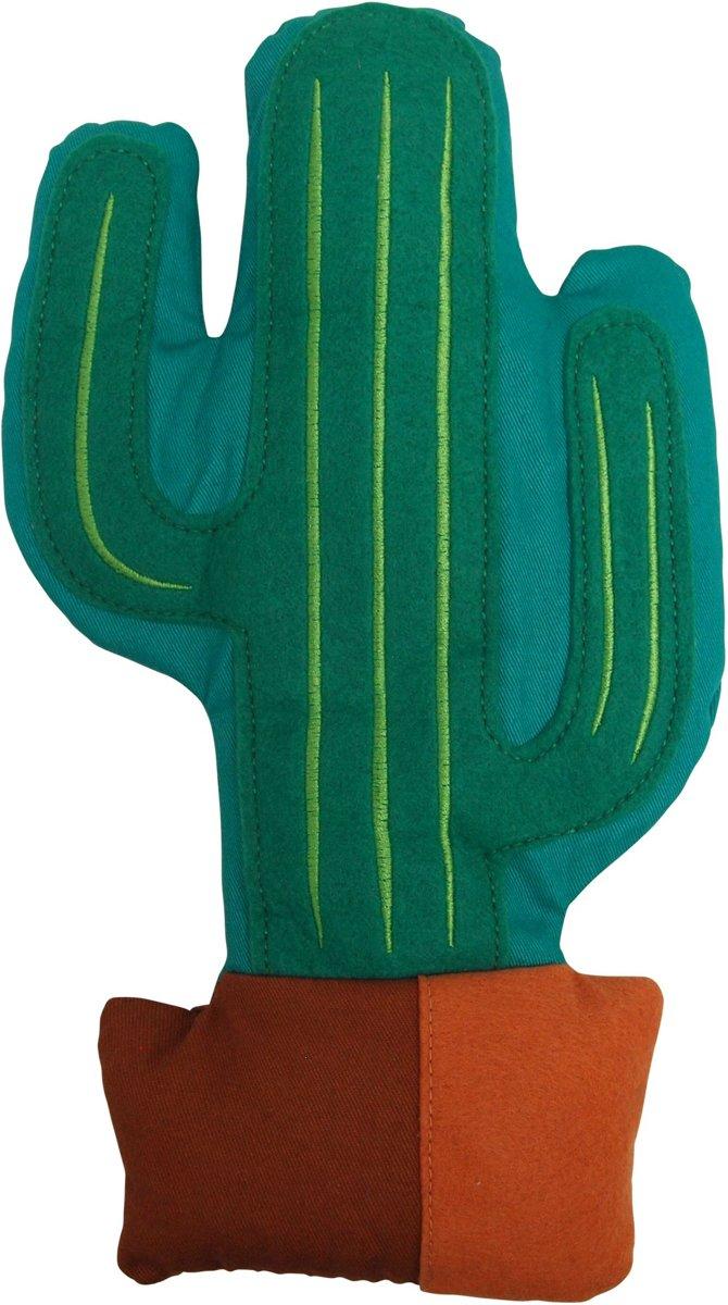 Bitten Warmteknuffel Kussen Cactus gevuld met lavendel tarwe Magnetron - Warmtekussen kopen