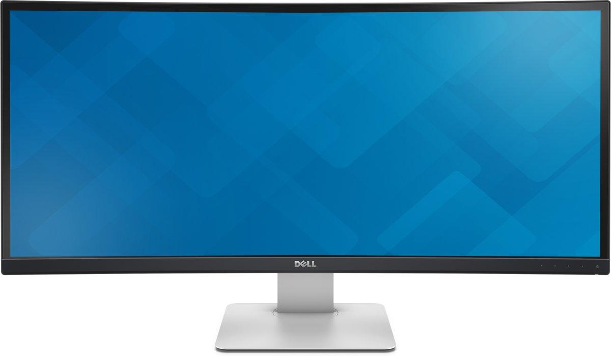DELL UltraSharp U3415W 34'' Wide Quad HD LED Mat Gebogen Zwart computer monitor