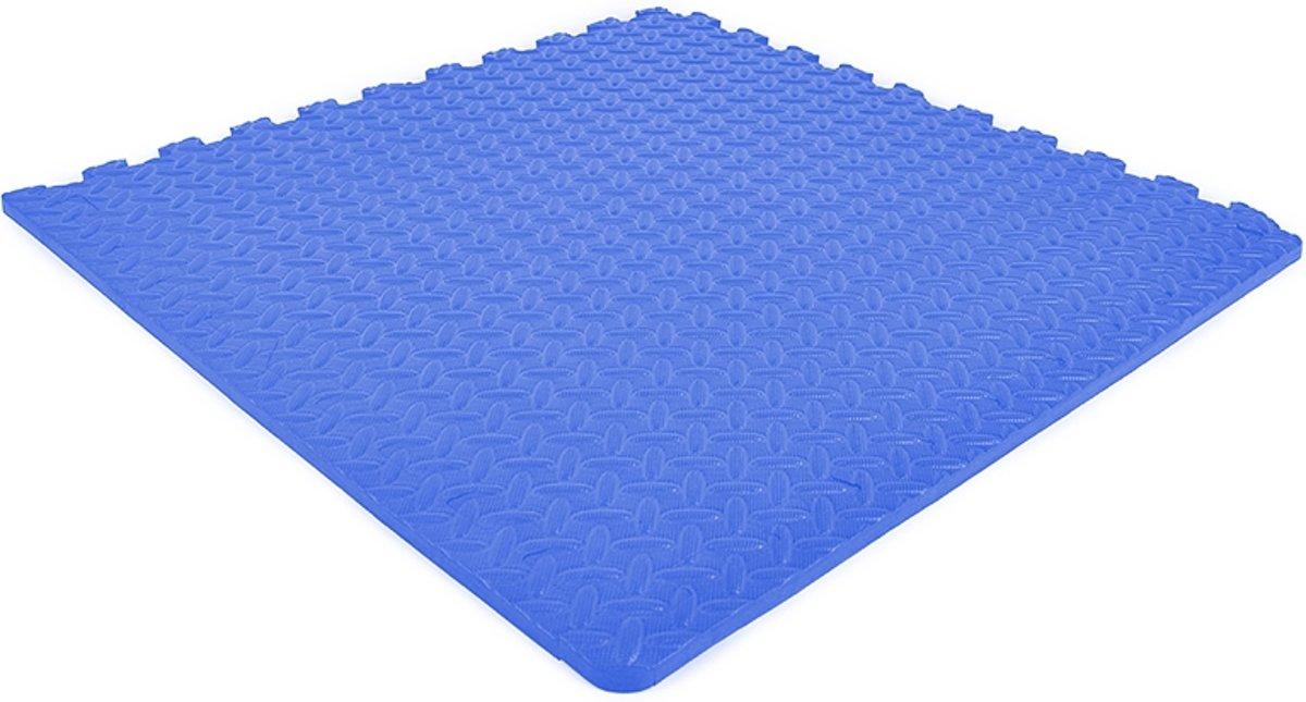 EVA FOAM tegels blauw 62x62x1,2cm (set van 4 tegels + randen) kopen