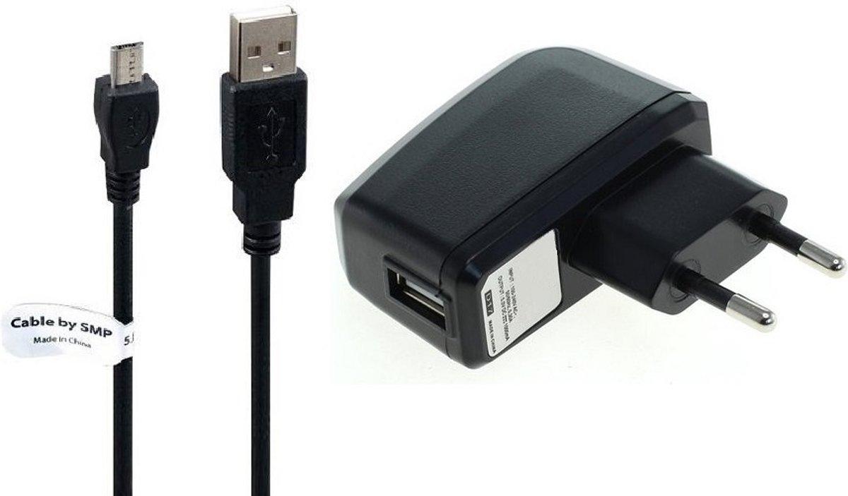 2A oplader en oplaadkabel. 2,2 m Oplaadsnoer met adapter stekker Past ook op Panasonic. KX-325, KX-TU301, KX-TU311, KX-TU320