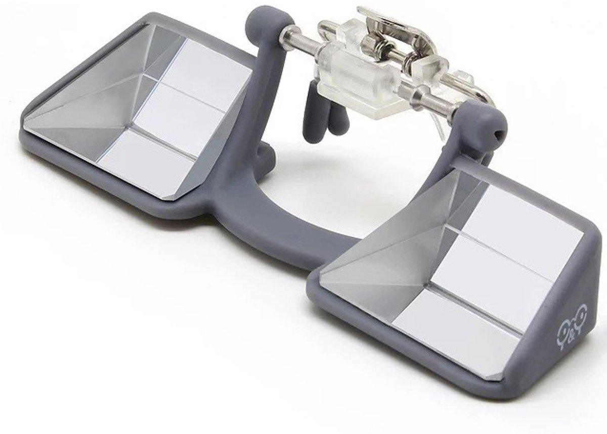 Y&Y Vertical Clip Up Zekerbril voor brillendragers