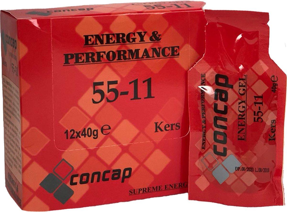 Concap Energy Gel 55-11 - Kers - 12 x 40 gram kopen