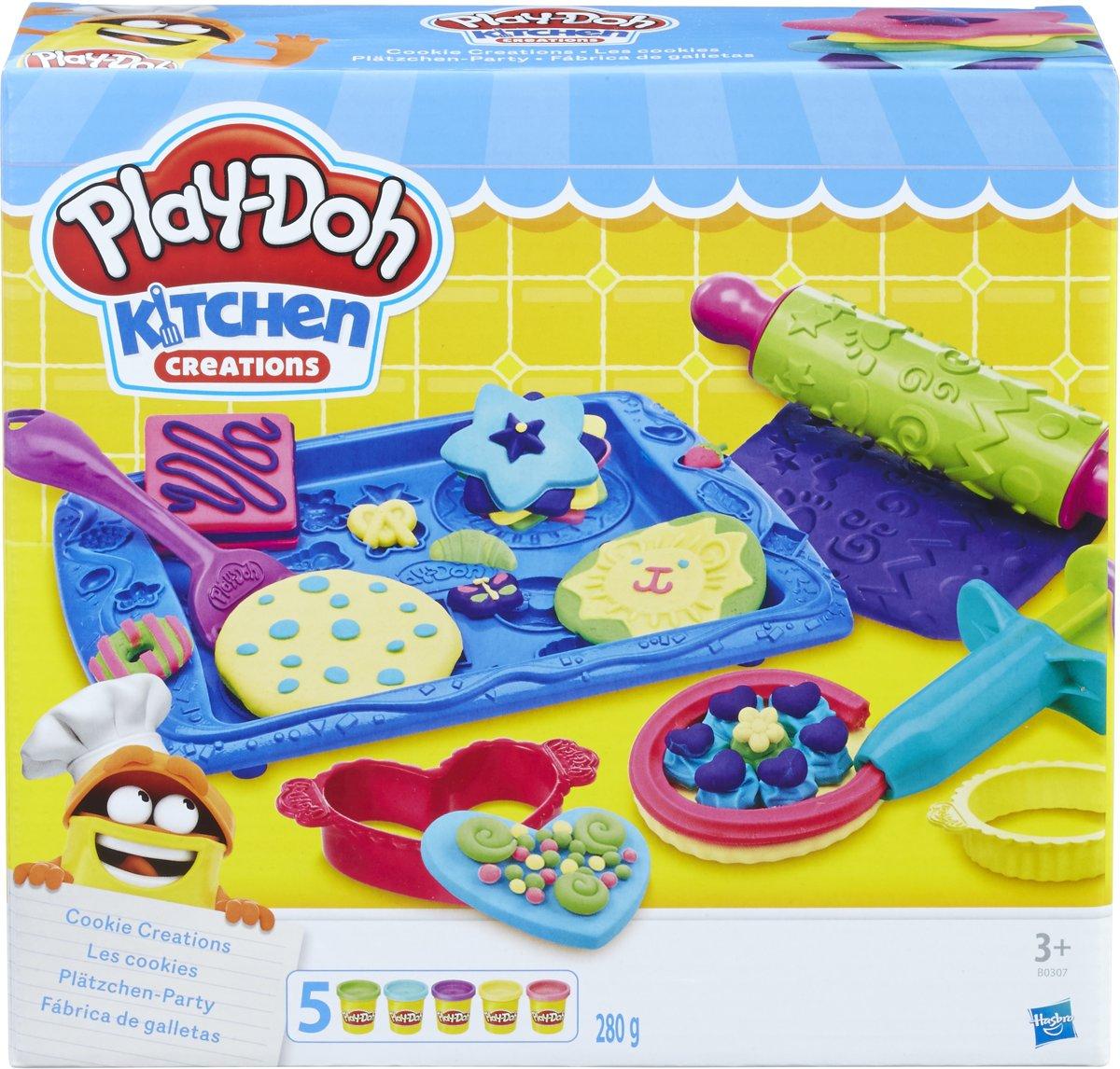 Play-Doh Cookie Creations koekjes bakken- Klei