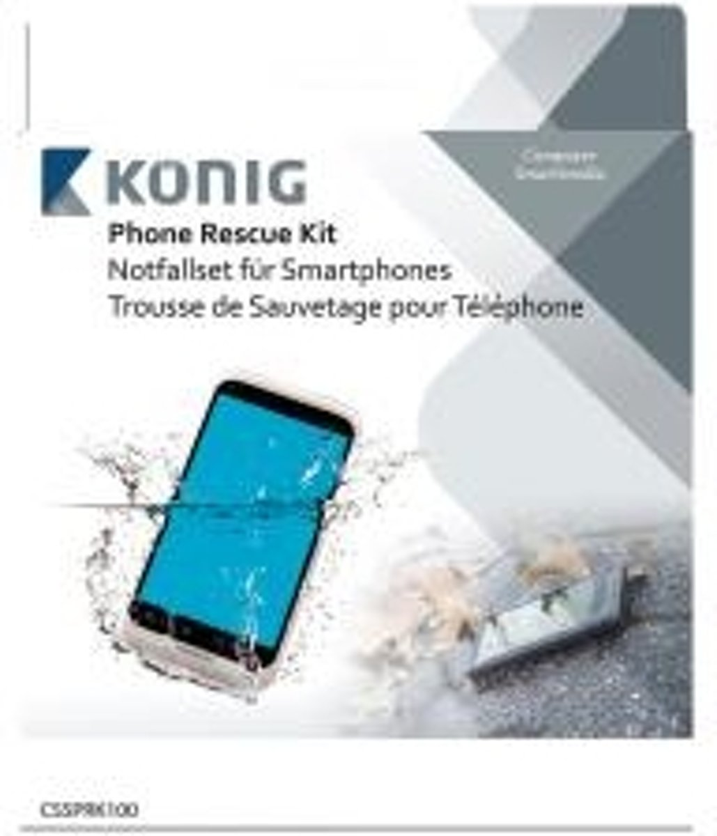 König CSSPRK100 Phone Rescue Kit, Waterschade aan telefoon kit kopen
