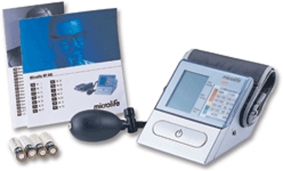 Microlife BP A80 Bovenarm Semi-automatisch 1gebruiker(s) bloeddrukmeter