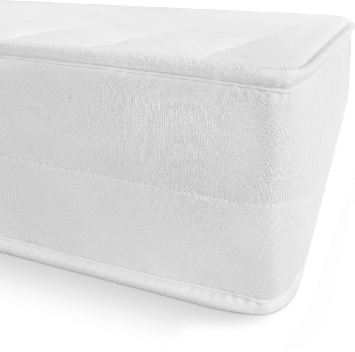 Matras - 140x200 - 7 zones - koudschuim - microvezel tijk - 15 cm hoog - twijfelaar bed
