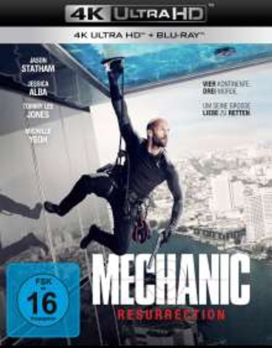Mechanic: Resurrection (Ultra HD Blu-ray & Blu-ray)-