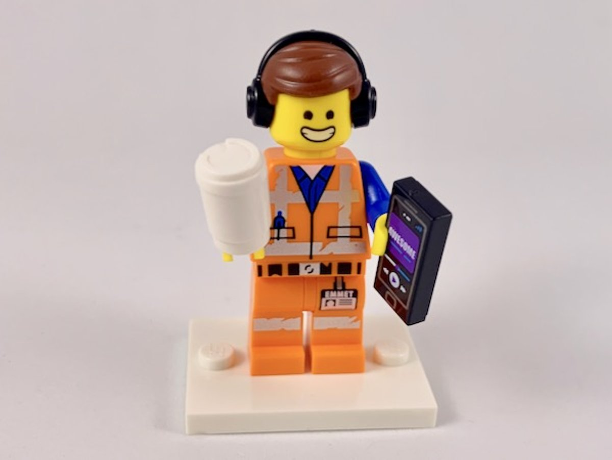LEGO Minifiguur The LEGO Movie 2 Awesome Remix Emmet coltlm2-1