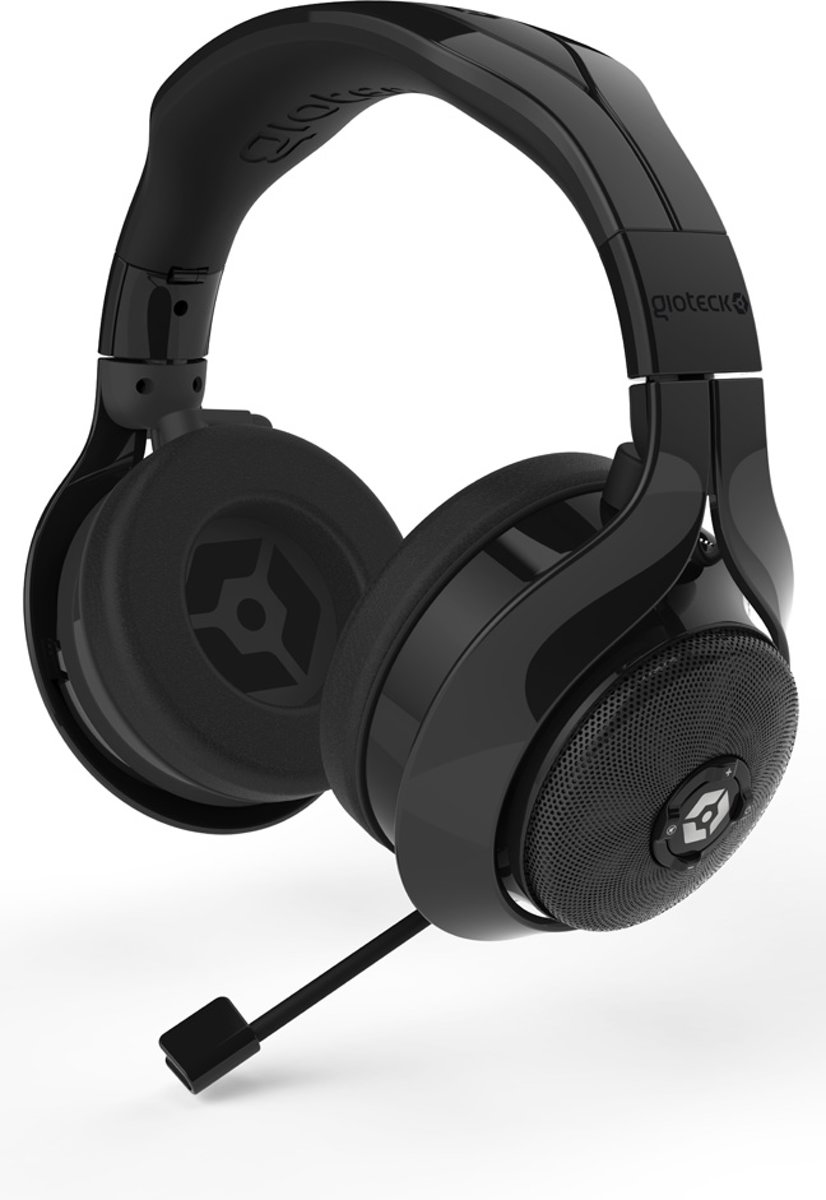 Gioteck FL-300 Stereo Headset - Bluetooth - Zwart - PC / MAC / PS4 / Xbox One kopen