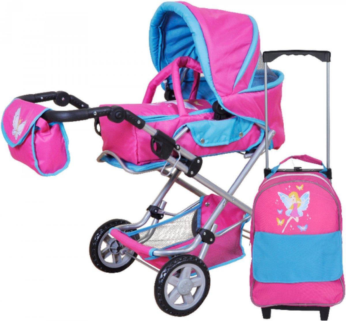Knorrtoys 61459 accessoire voor poppen Poppenkinderwagen