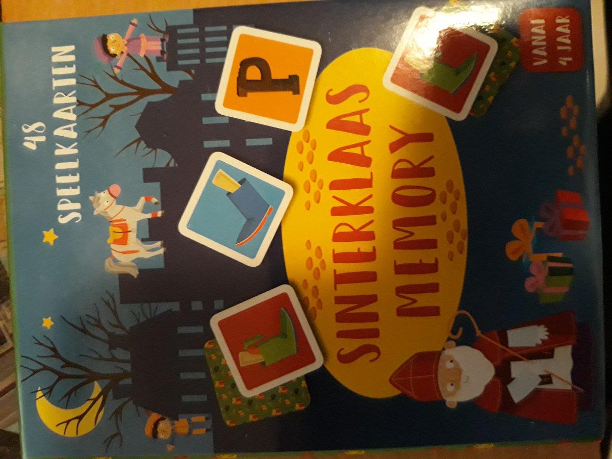 Spel  Sinterklaas memory
