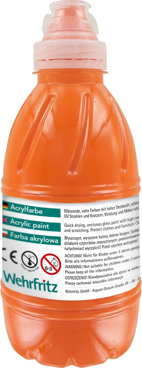 Haba Education - Acrylic Paint, orange