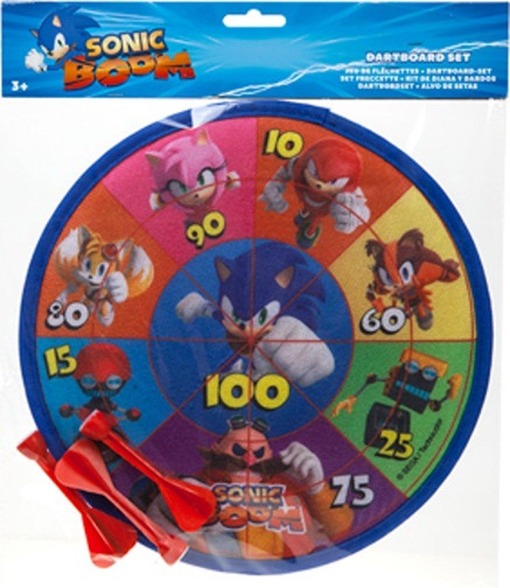 Gosh! Designs Dartboard Set Sonic Boom Klittenband kopen
