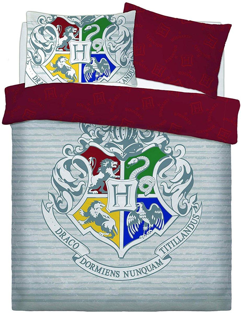 Harry Potter dekbedovertrek - Witchcraft and Wizardy - tweepersoons met 2 kussenslopen - kopen