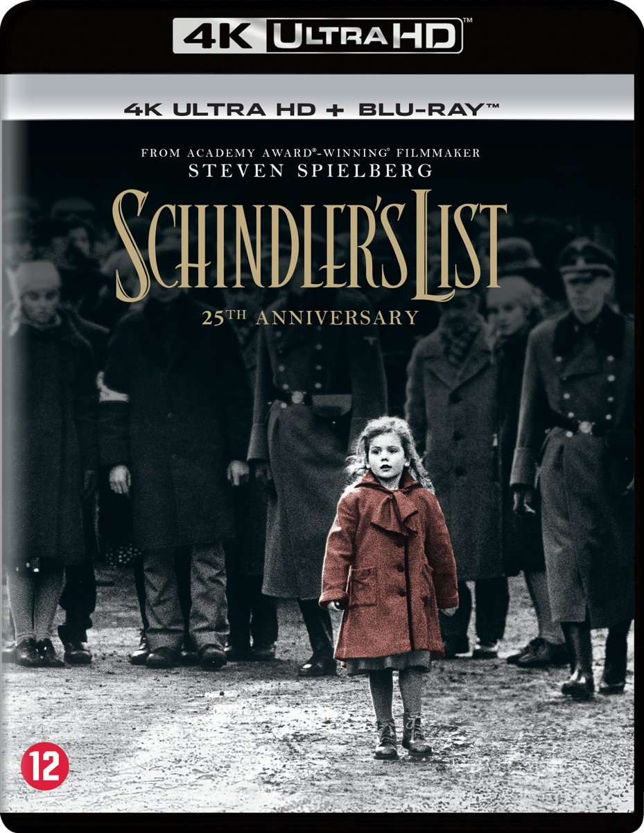 Schindler's List  '19 (25th Anniversary)(4K Ultra Hd Blu-ray)-