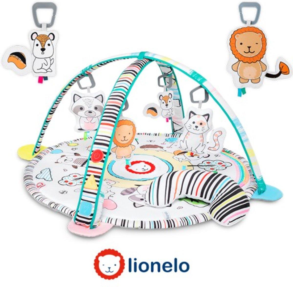 Lionelo Paula - Educatieve speelmat - Activity Gym met licht, muziek en speeltjes