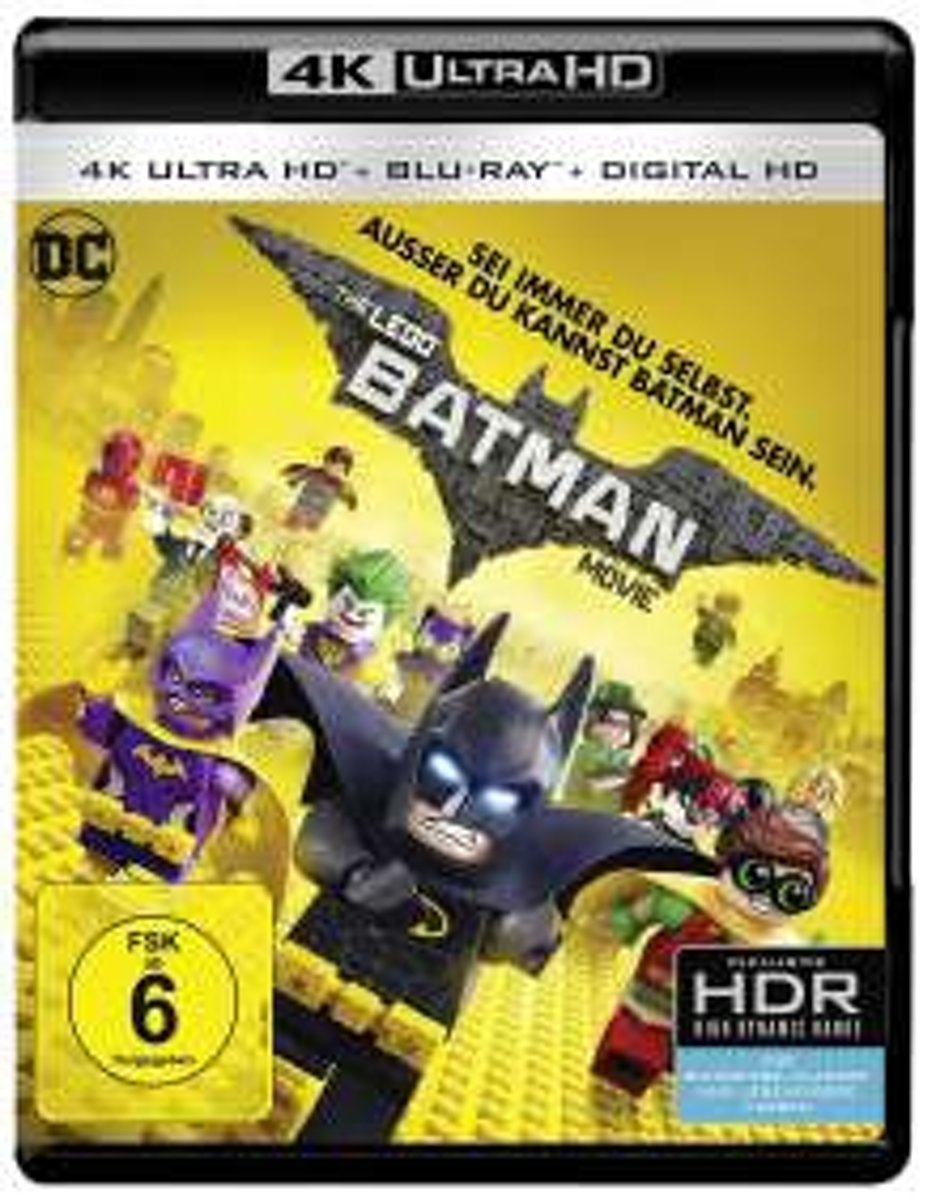 The Lego Batman Movie (4K Ultra HD Blu-ray) (Import)-