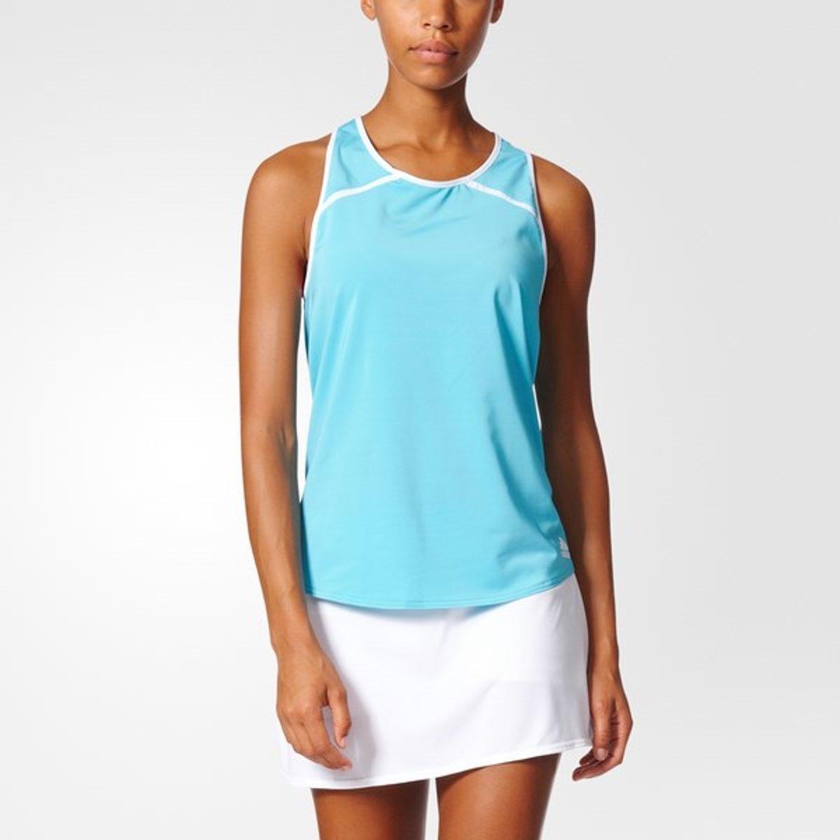 adidas Club Tank - Sportshirt - Dames - S - Samba Blue S14 thumbnail