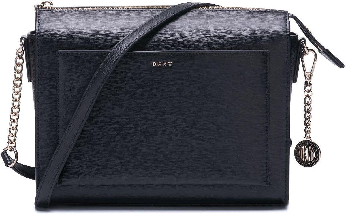 DKNY Bryant Dames Crossbodytas - Zwart / Goud kopen