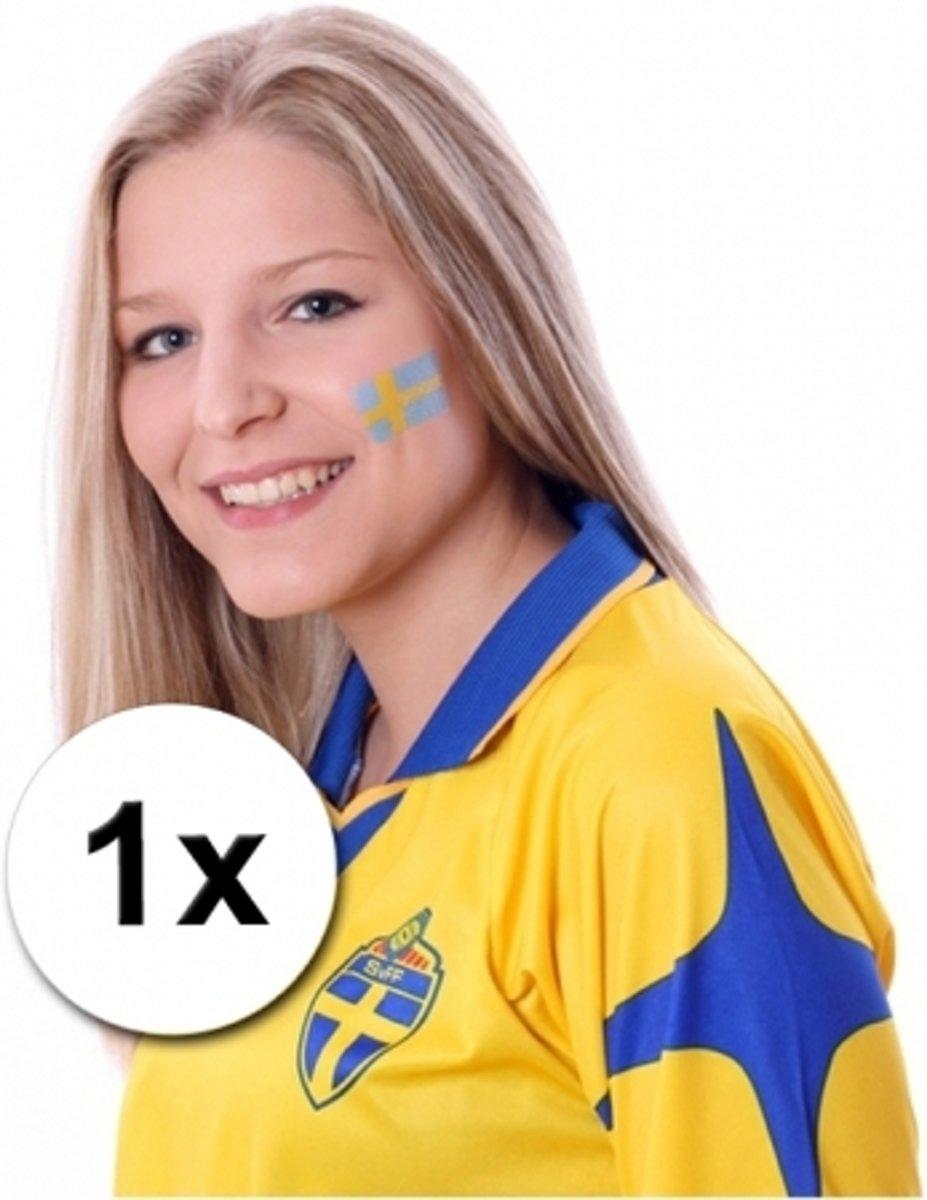 Landen vlag tattoo Zweden