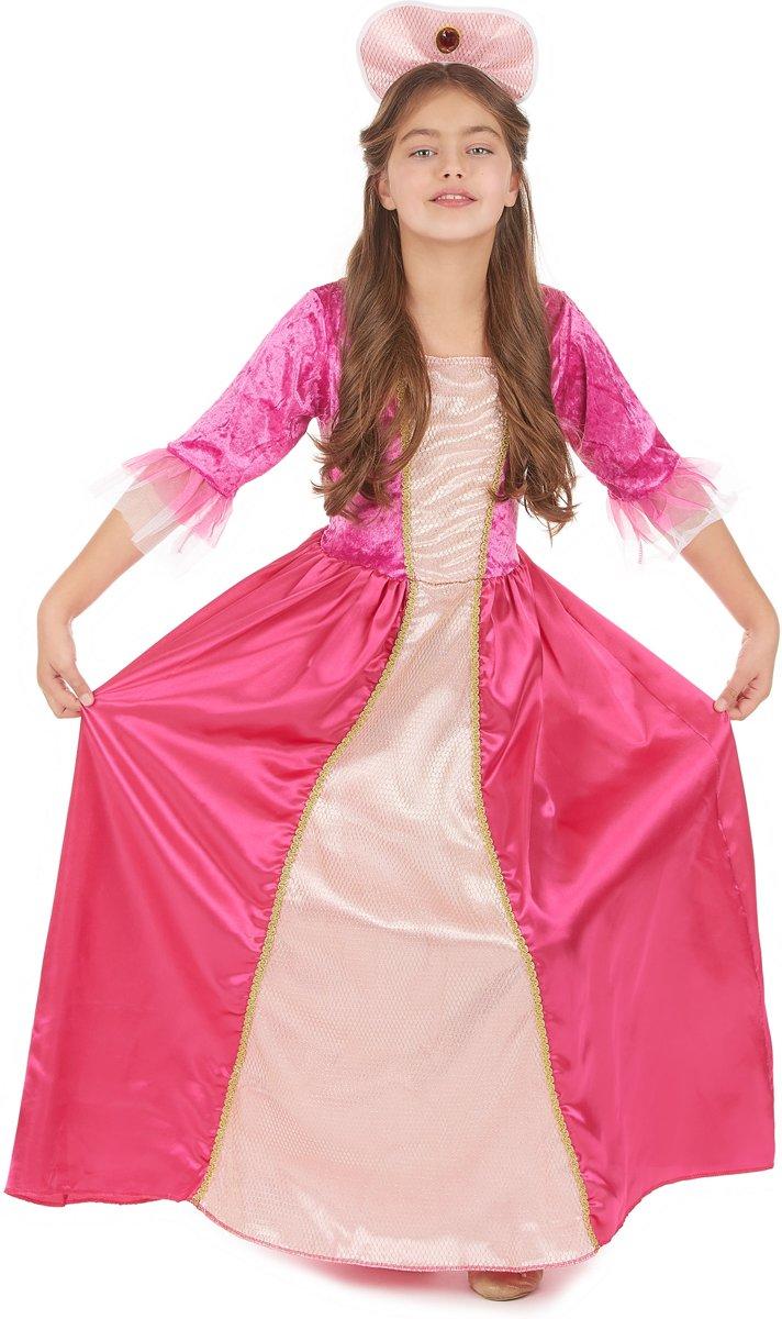 Roze prinses outfit voor meiden - Verkleedkleding - 104/110