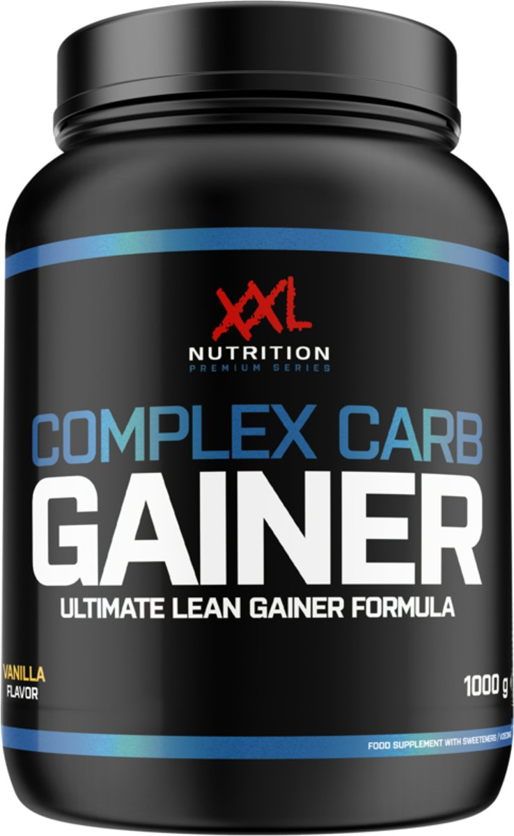 XXL Nutrition Complex Carb Gainer - 2500 gram - Cookies and Cream kopen