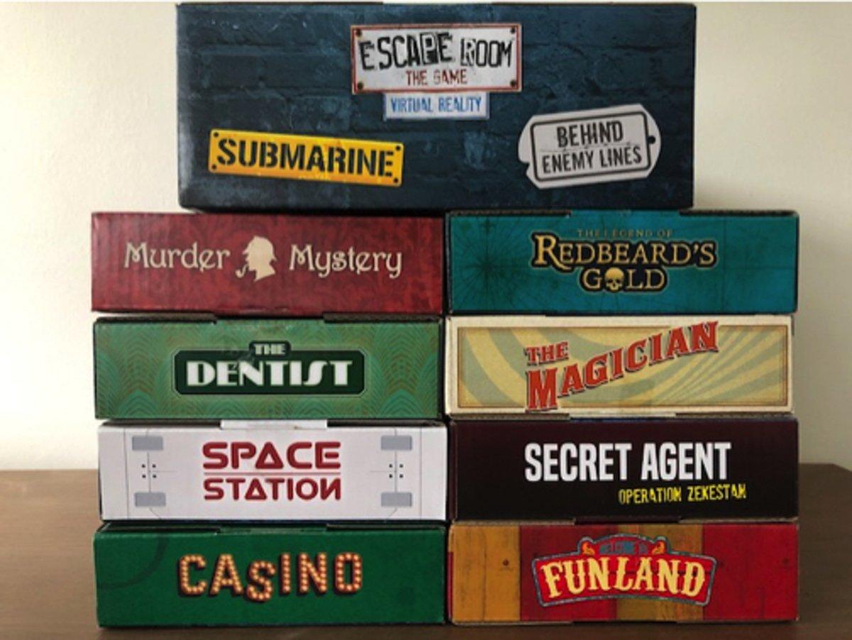 Identity Games Escape Room - alle uitbreidingen