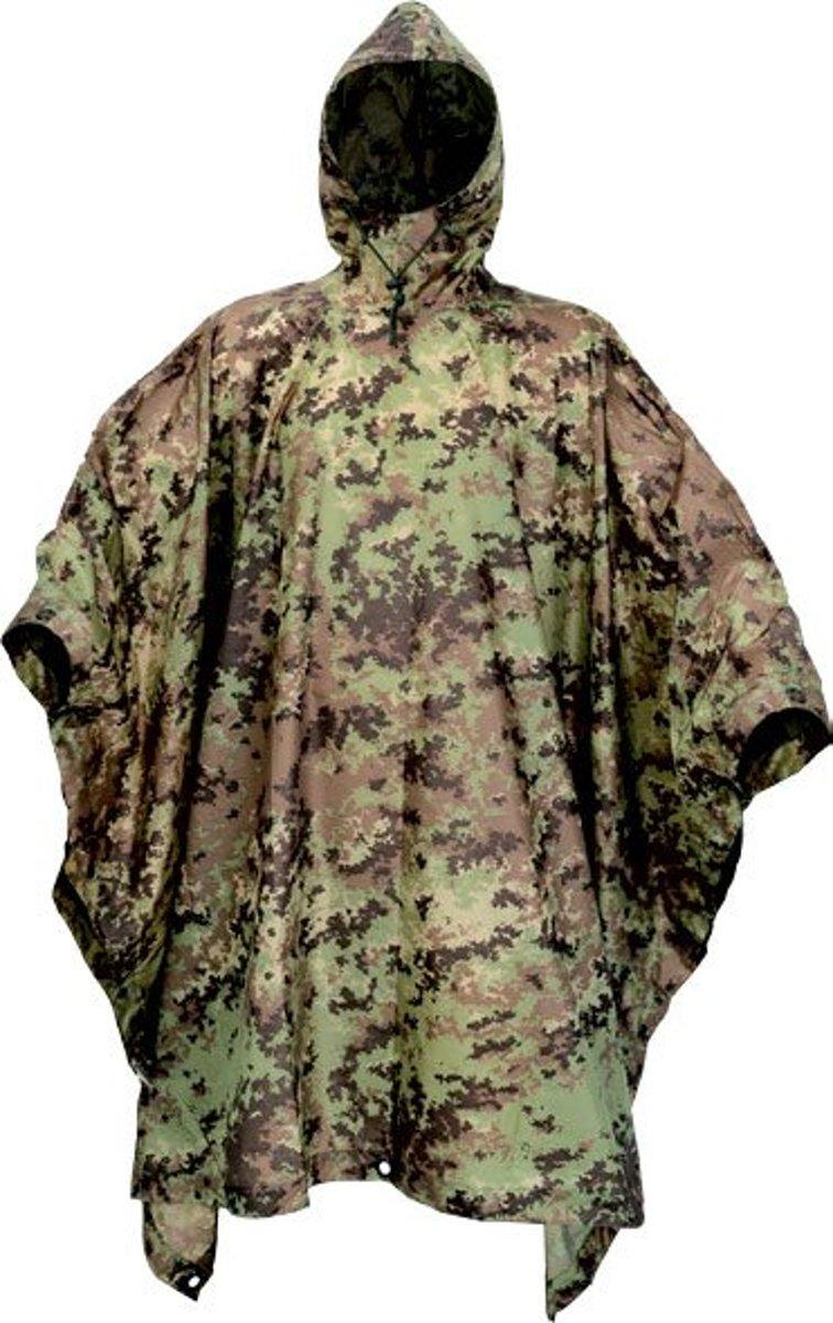 Poncho - camouflage - vegetato italiano kopen