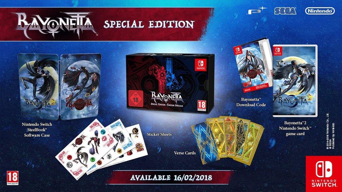 Bayonetta 2 (Special Edition) Switch