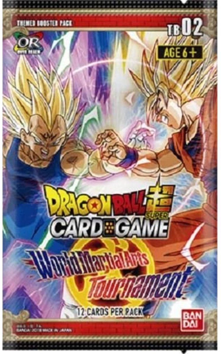 Dragon Ball Scg Themed Boosterpack Tb02 (en)