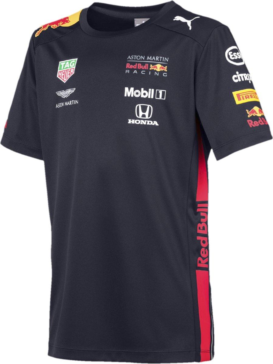 Max Verstappen Red Bull Racing teamline T-shirt 2019 Maat L