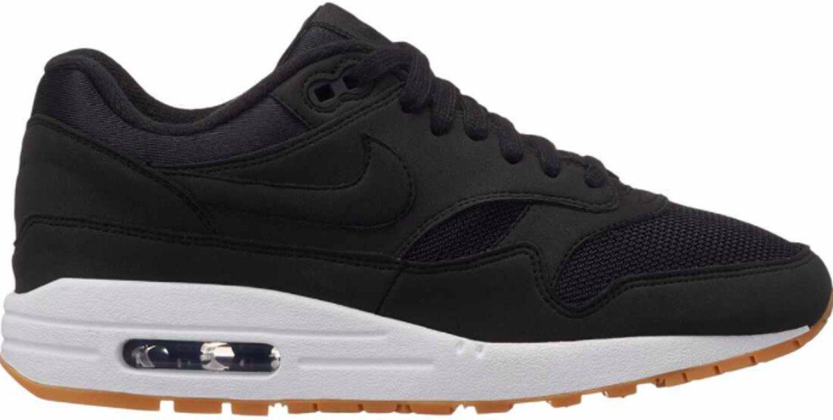| Nike Wmns Air Max 1 Black Black Gum Light Brown
