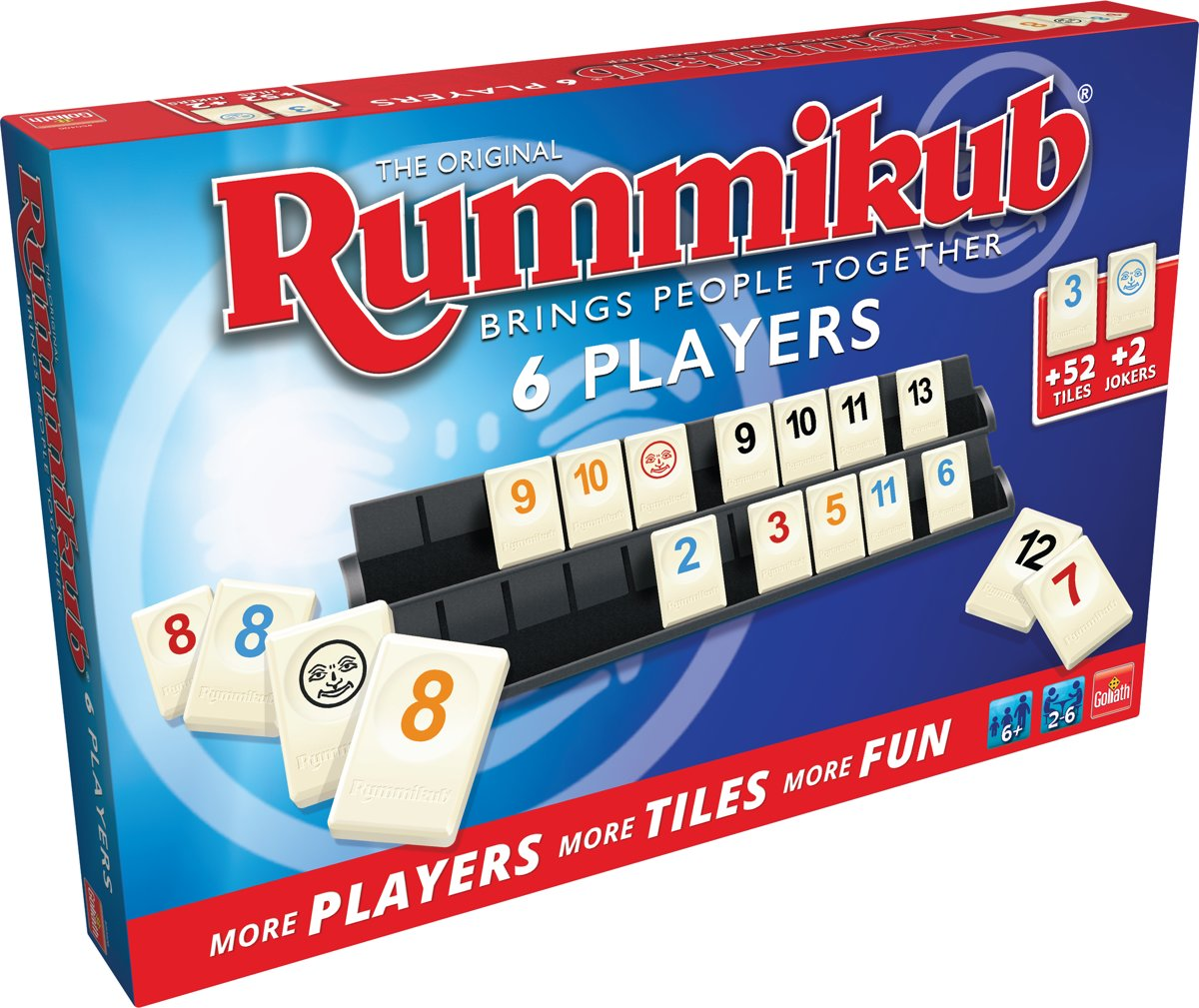 Rummikub The Original - 6 Players - Bordspel