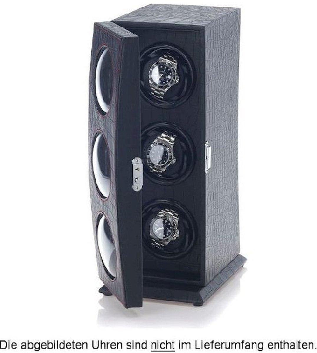 Portax Watchwinder Nautilus 3 Uhren Schwarz 1003067001 kopen