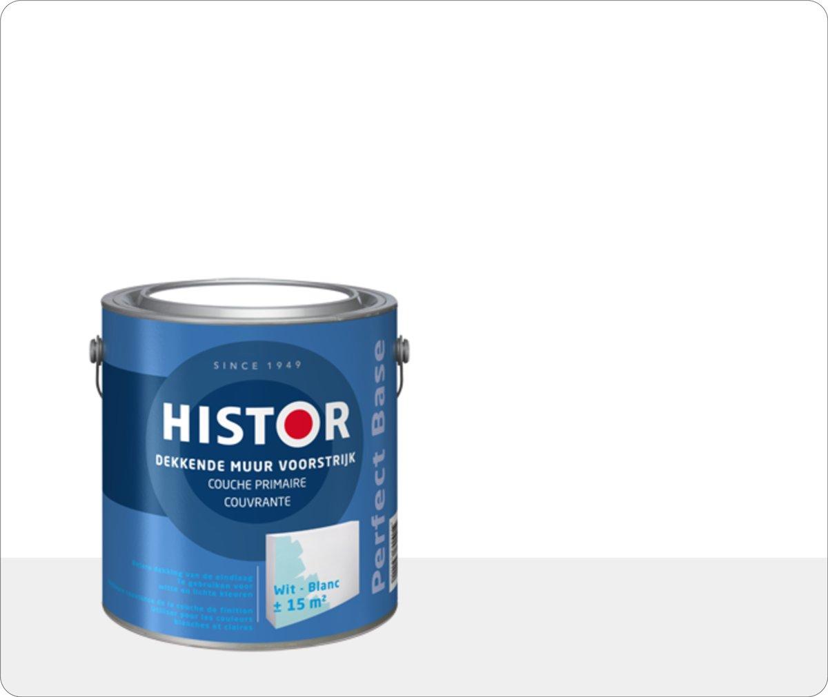 Histor Perfect Base Dekkende Muur Voorstrijk 2,5 liter - Wit kopen
