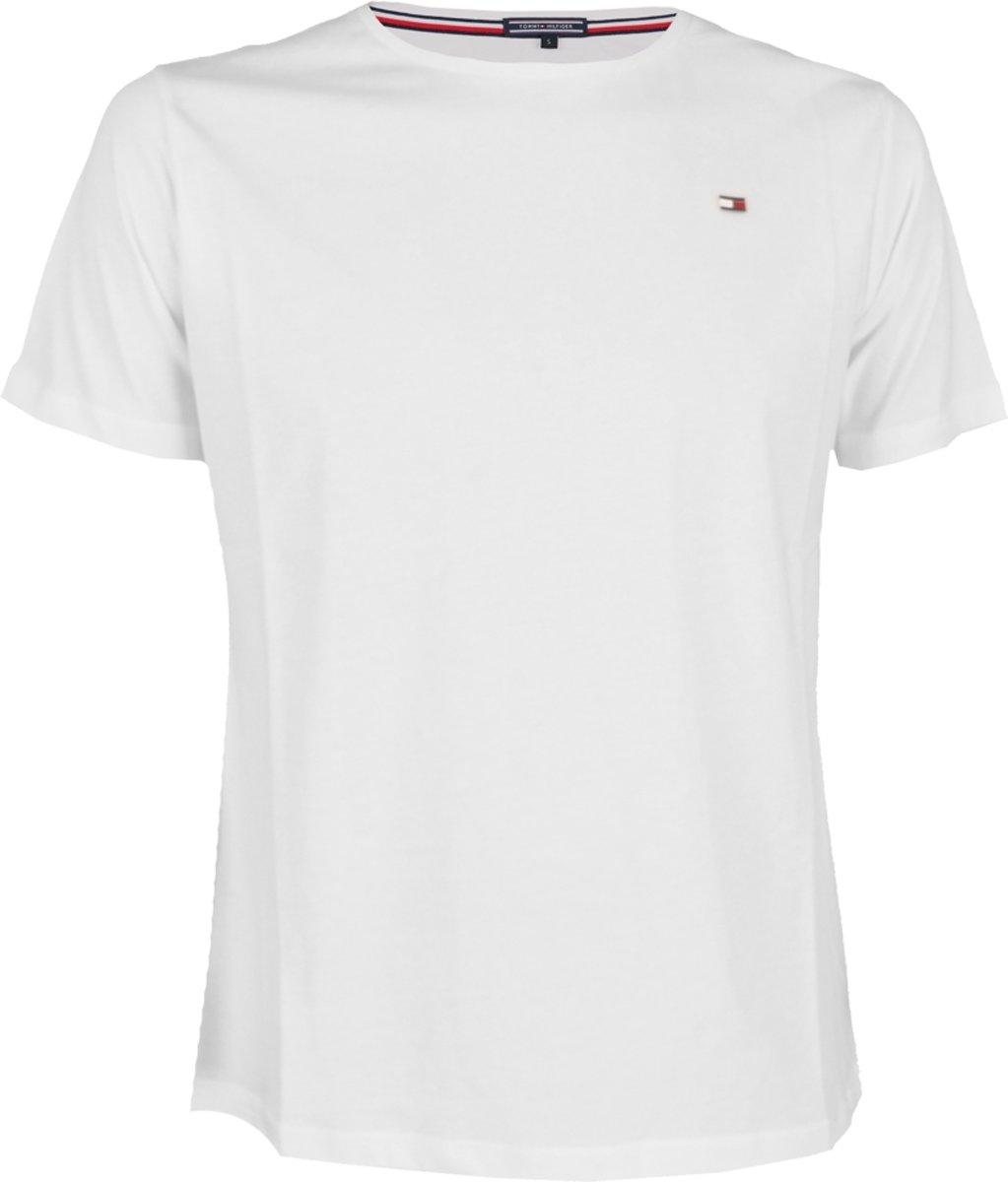 Tommy Hilfiger Icon Ronde Hals T Shirt Wit L