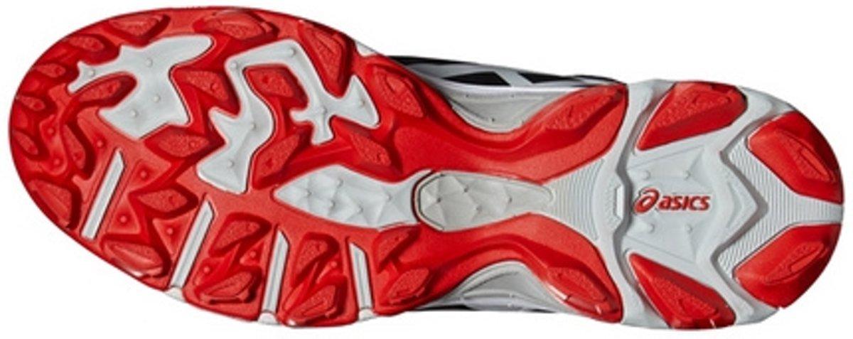 asics hockeyschoenen rood
