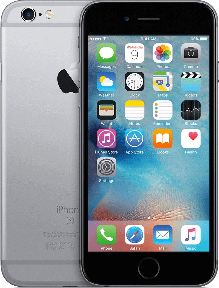 Apple iPhone 6s - 64GB - Refurbished - Licht gebruikt (B Grade) - Spacegrijs kopen