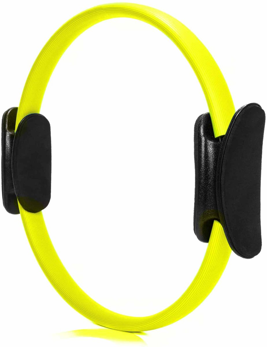 #DoYourFitness - Pilates Ring - »Loop« - voor effectieve pilates-oefeningen - Ø 37,6 cm - Geel kopen