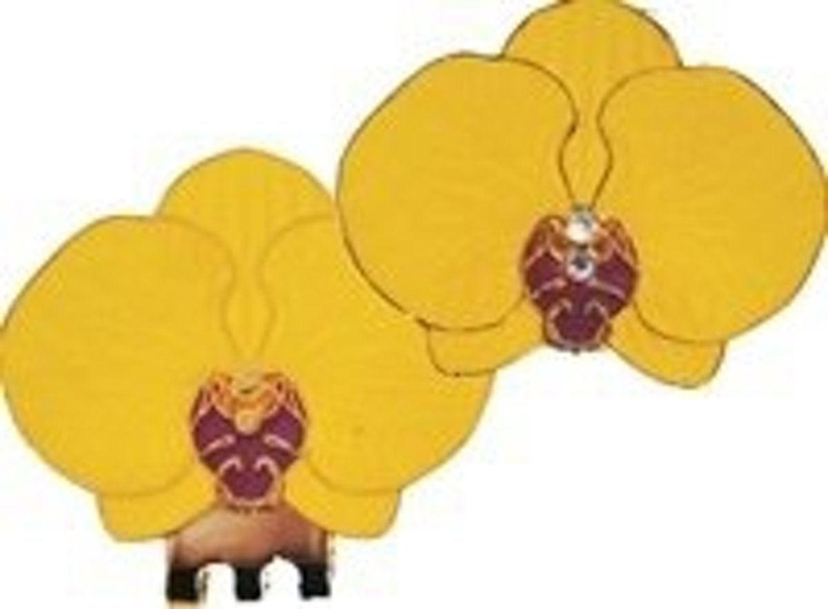 Golfbal Marker Orchidee - geel kopen